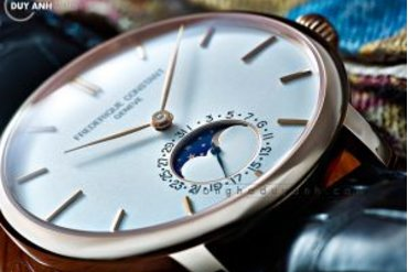 [Review - Đánh Giá] Frederique Constant Manufacture Slimline MoonPhase FC-703V3S4 – Cảm hứng từ huyền thoại